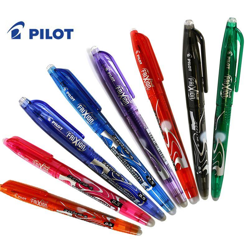 Pilot Frixion Ballpoint Pen Medium Black image