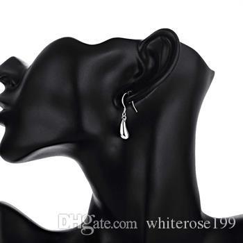 Wholesale  - 最低価格クリスマスギフト925スターリングシルバーファッションイヤリングE036