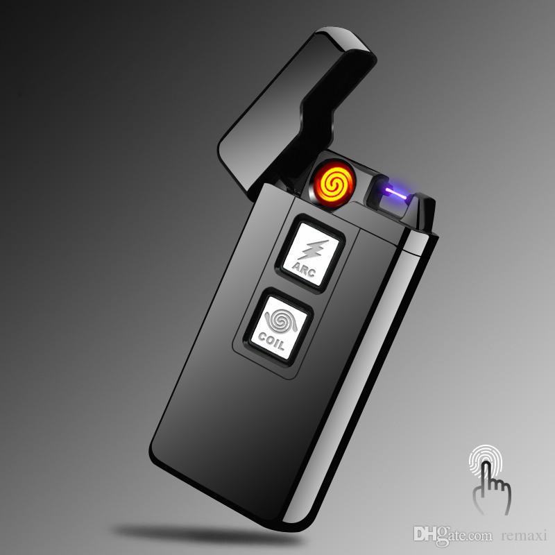 In Plasma Arc And Coil Lighter Rechargeable Plasma Arc Lighter - Free invoices and estimates tobacco online store