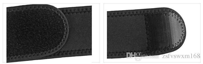 Protecteur d'épaulette d'épaule à bande double ajustable et à mouvement ajustable, noir