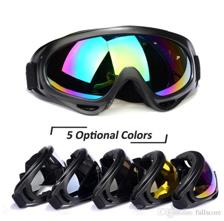 X400 UV Protection Outdoor Sports Ski Snowboard Skate Goggles Motorcycle Off-Road Cycling Goggle Glasses Eyewear Lens Motor Sunglasses