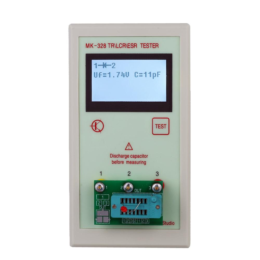 2018 Lcd Esr Meter Transistor Tester For Mos Pnp Npn L C R Kinds Of Transistors Are I Ii Mini Diode Inductance Capacitance Assortment From Allmall