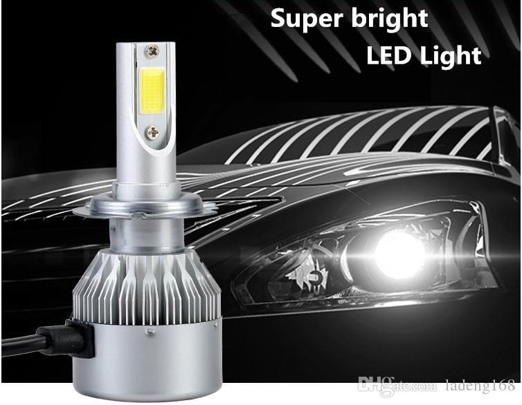 Led Lampen H7 : Großhandel 1 satz auto led scheinwerfer nebelscheinwerfer h1 h3