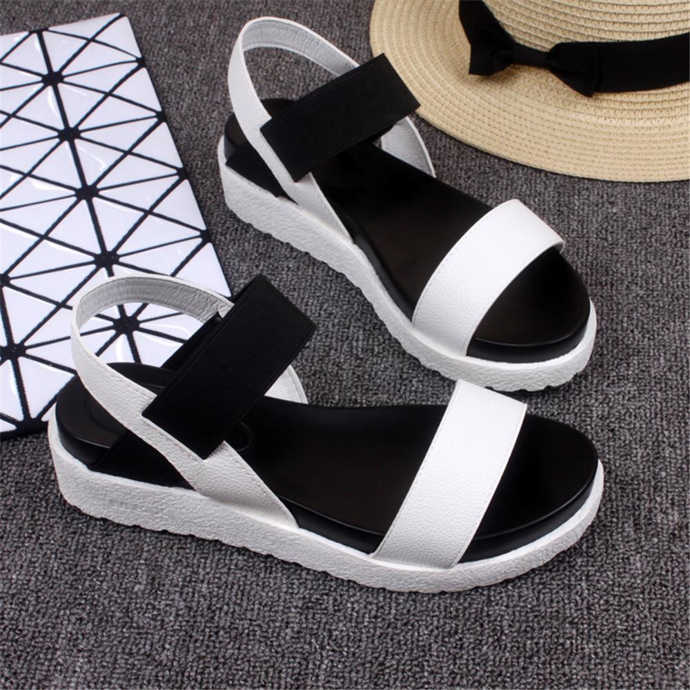 fe3abaad7d29e9 Wholesale Hot Selling Sandals Women Summer Shoes Woman 2016 Peep Toe Flat  Shoes Roman Sandals Women Sandals Sandalias Mujer Sandalias Wedge Shoes  Womens ...