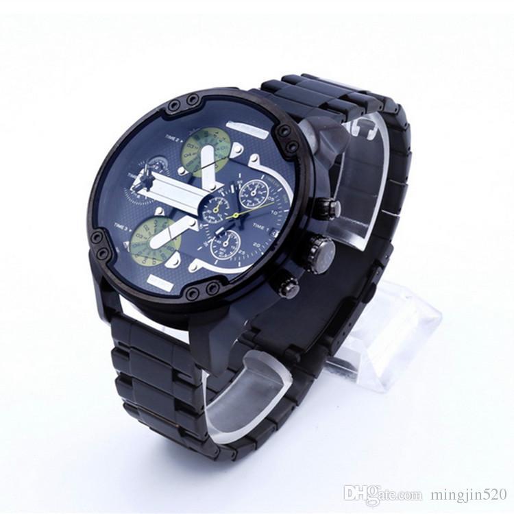 Top Brand Luxury watch 2017 New DZ Men Quartz Sports Wrist Watches Mens Stainless Steel Watches Military dz 7311 7315 reloj hombre