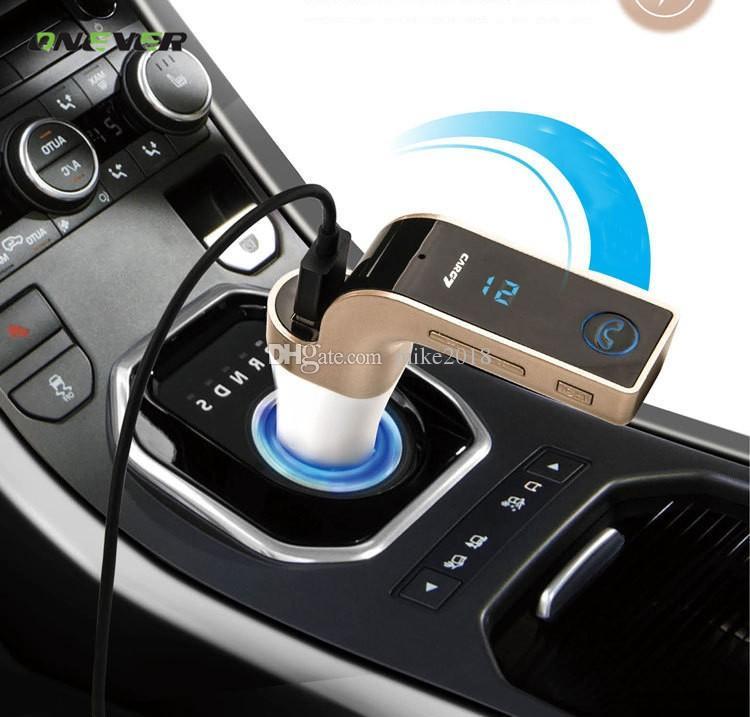 FM-передатчик многофункциональный 4-в-1 автомобильный Bluetooth с USB MP3-плеер флэш-накопители TF радио передатчик с ЖК-дисплеем USB Mic