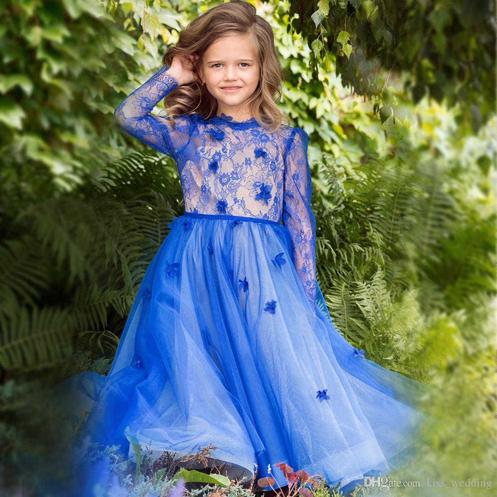 Blue dress juniors 3d