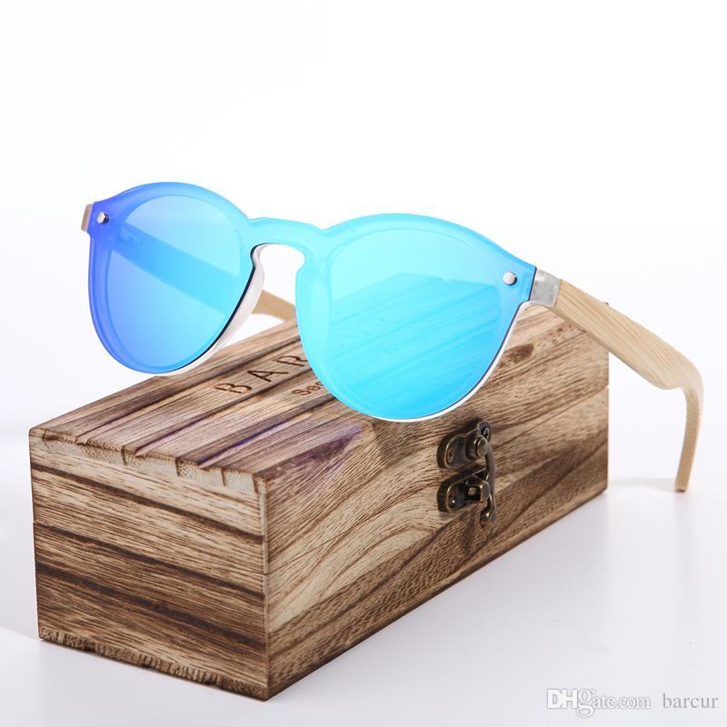 68d495858fdc5 Compre 2018 BARCUR Cat Eye Óculos De Sol De Bambu Homens New Cat Eye Óculos  Pra Óculos De Sol Para As Mulheres Googles Red Óculos De Sol Óculos De  Pesca De ...