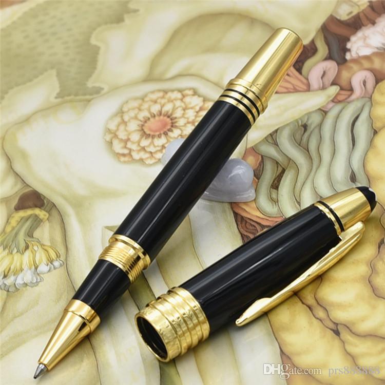 الفاخرة جون F. كينيدي سلسلة الذهب كليب نافورة الأقلام مع ارتفاع كيلتي القرطاسية اللوازم المدرسية مكتب العلامة التجارية الكتابة قلم gif
