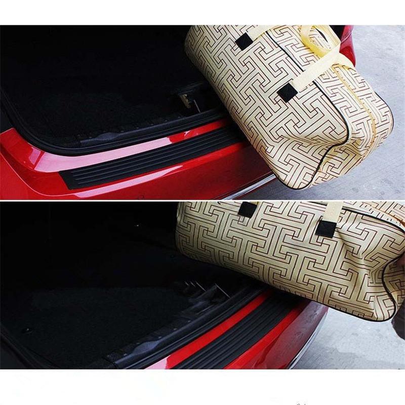 Protector de parachoques del protector del umbral de la puerta de goma de SUV universal de 41 pulgadas para camioneta SUV de recolección de automóviles 104 cm Resistente a los rasguños
