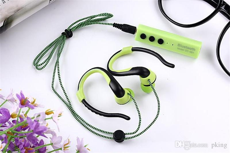 Sports Wireless Bluetooth Earphone Noise Cancelling Stereo Headset In ear Earbuds Handsfree With Mic Audifonos for MP3 Player Phone