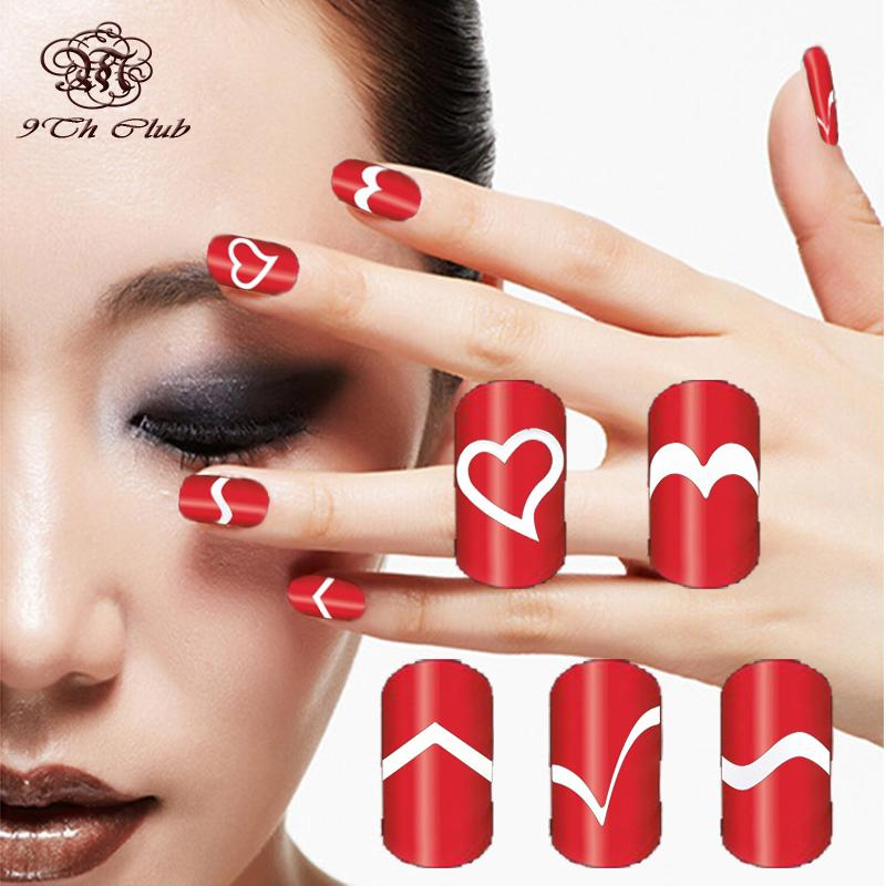 Wholesale French Manicure Diy Nail Art Stencils,Airbrush Templates ...