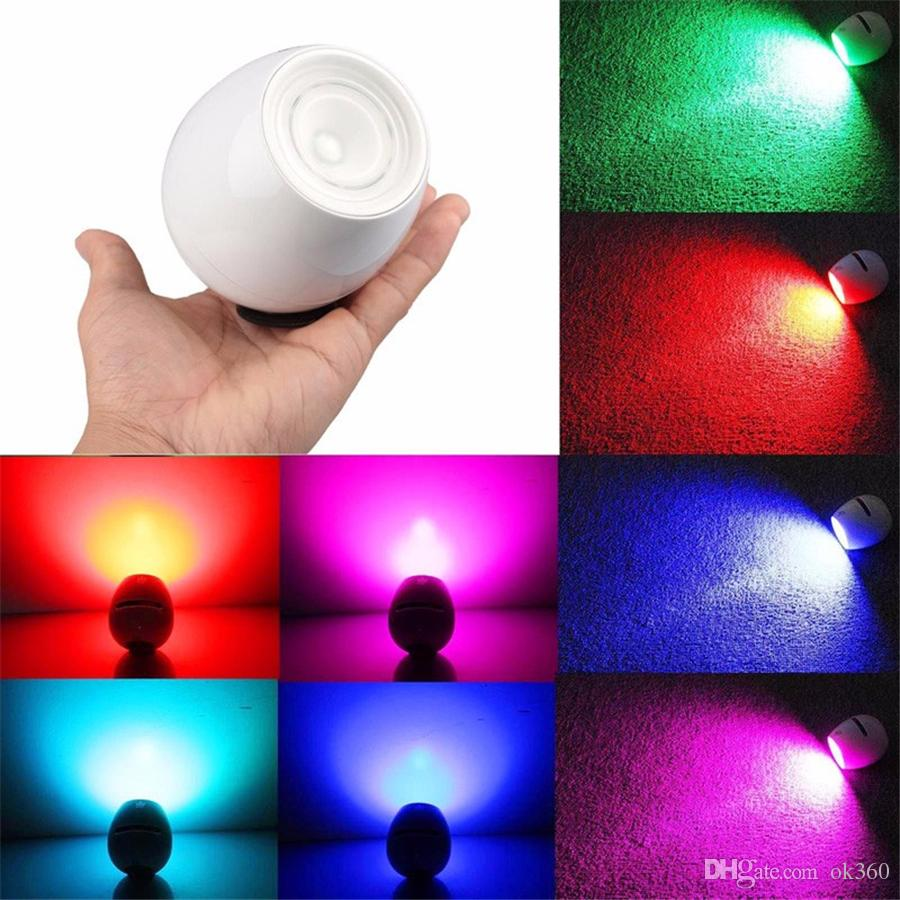 Colored Led Lights >> Creative 256 Colors Led Light Living Color Changeable Mood Light Led With Touchscreen Scroll Bar Lamp For Christmas Wedding