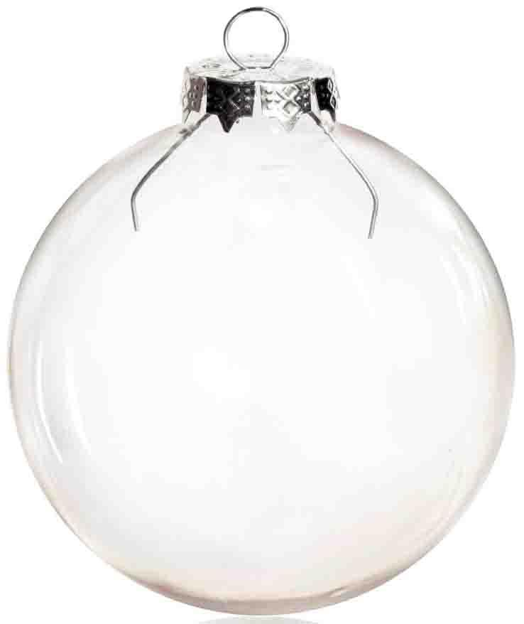 DIY Paintable Clear Christmas Ornament Decoration 80mm Glass Ball With  Silver Top, 100/Pack Christmas Decorations At Home Christmas Decorations  Buy From ... - DIY Paintable Clear Christmas Ornament Decoration 80mm Glass Ball