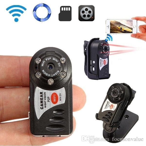 P2p Mini Dv Hd Wifi Spy Hidden Ip Camera Mini Camcorder