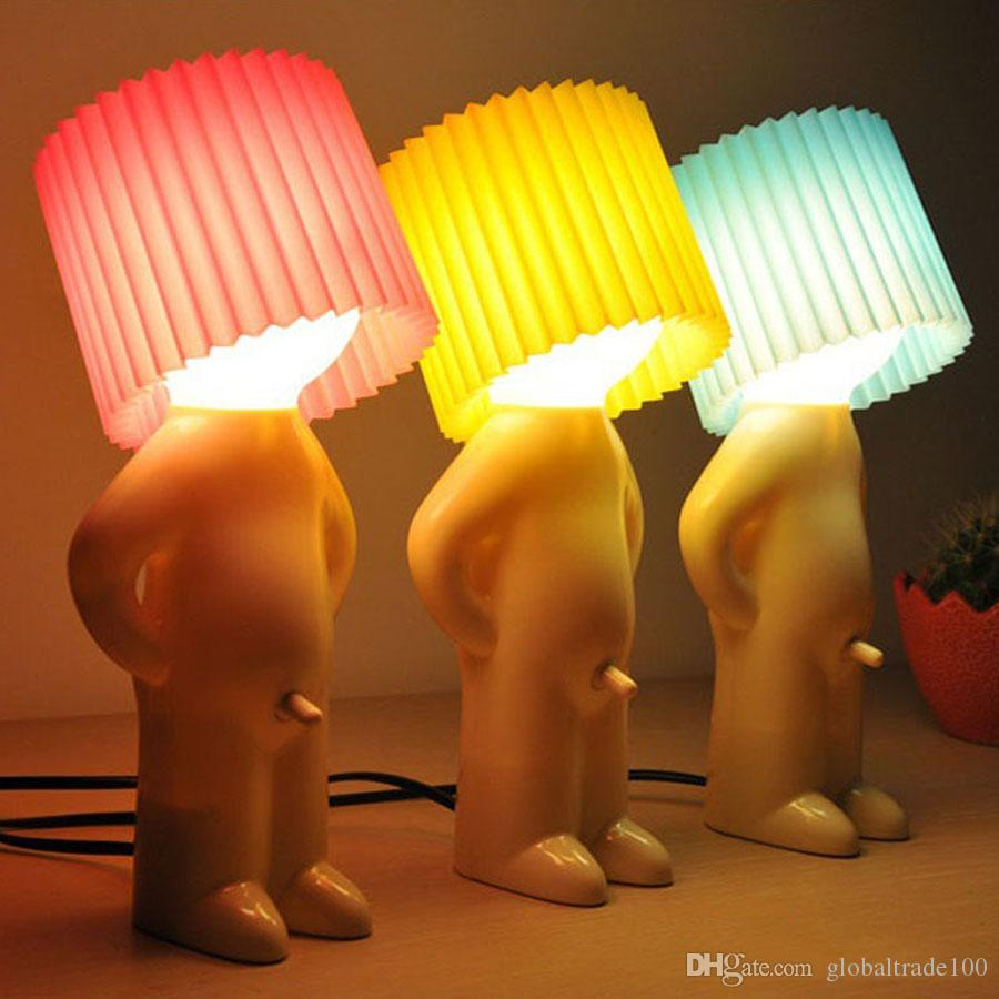 2018 Mr.P Boy Naughty Table Lamp Little Shy Creative Mini Small ...