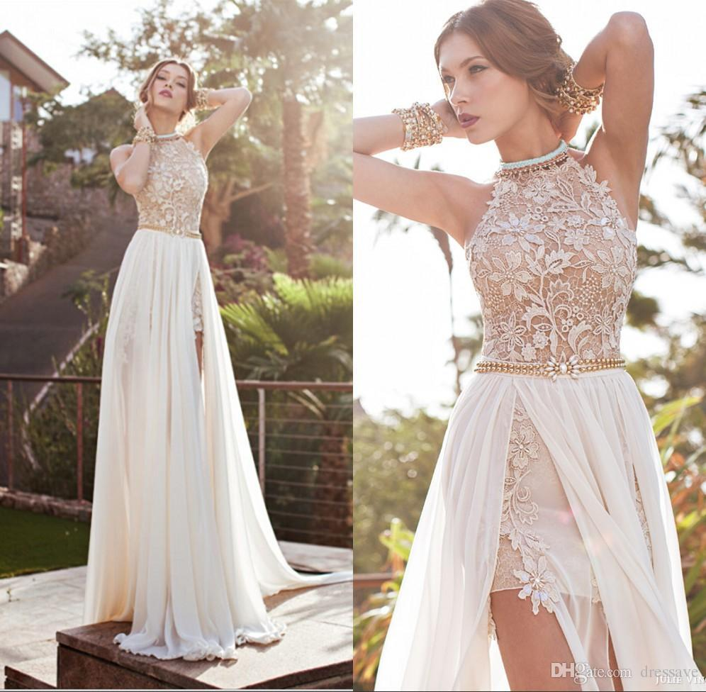 Vintage Wedding Dresses Under 1000: Discount Cheap In Stock Summer Beach Wedding Dresses