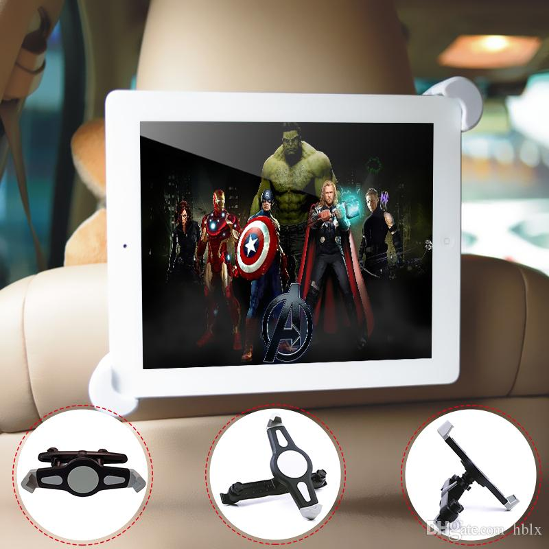Car Mount Back Seat Headrest Holder Stand Bracket for iPad Mini 7-11 Inches Auto Tablet PC Kit CDE_30N