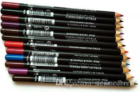 HOT good quality Lowest Best-Selling good sale New EyeLiner Lipliner Pencil Twelve different colors + gift