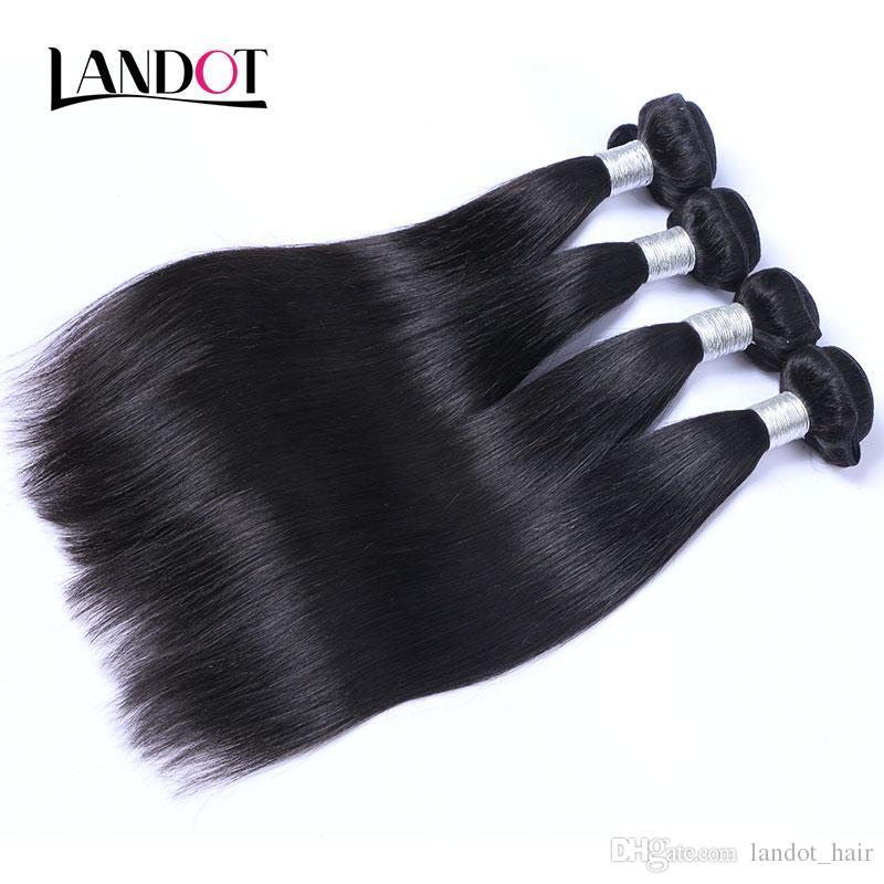 Rus düz bakire saç 3 adet işlenmemiş rus insan saç örgü demetleri doğal siyah ipeksi düz remy saç uzantıları çift atkı