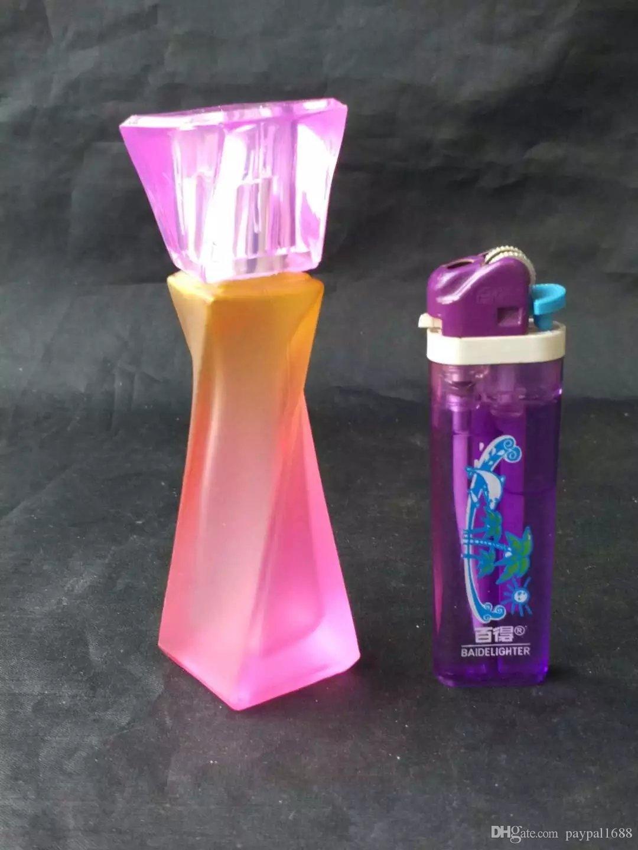 Accessoires de bangs en verre colorés de narguilé, pipes à fumer en verre mini multicolores à main multicolores tuyaux à main Best gloon