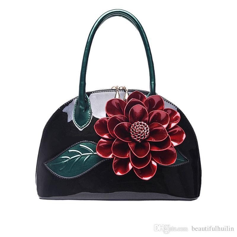Big Flower Women Leather Handbags Luxury Women Handbag Famous Brand Female  Tote Ladies Shoulder Bag Vintage Women Bag HLB035 Cheap Bags Cheap Designer  Bags ...