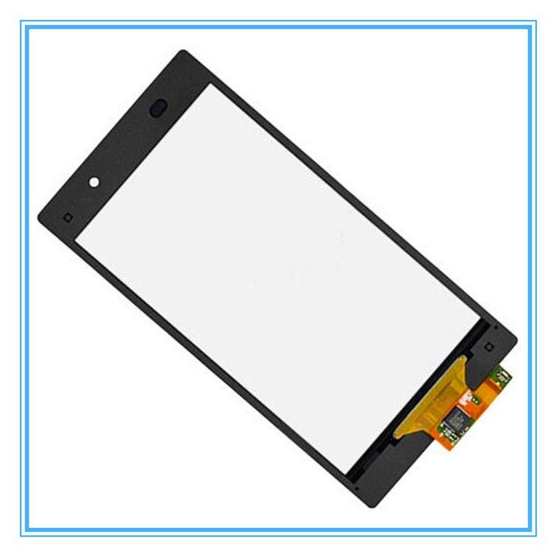 Original Black Replacement For Sony Xperia Z1 L39 L39H C6902 C6903 Touch Screen Digitizer Sensor Panel Front Glass Lens