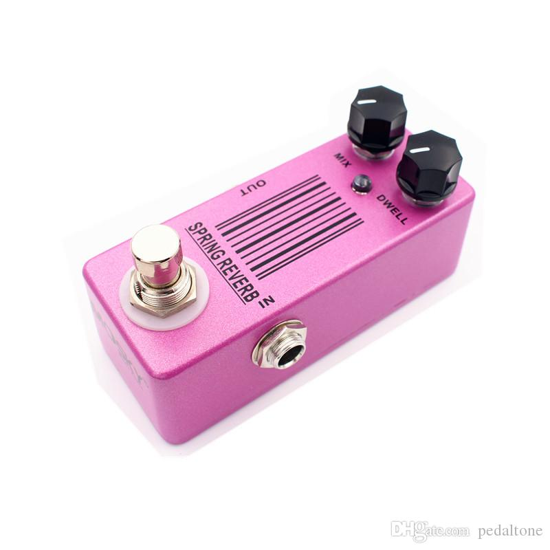 New! Mini Spring Reverb Guitar Effect Pedal Reverb Pedal And True Bypass Durable and fashionable