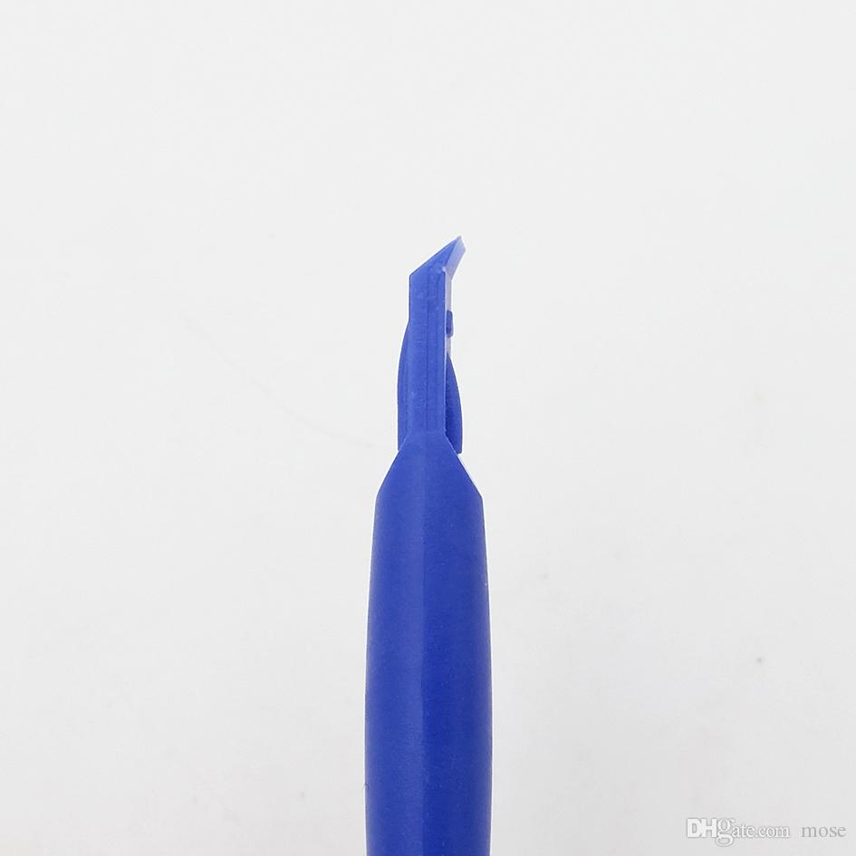 Wholesale 84mm Cheap Blue Spudger Repair Crow bar Plastic Pry Tools for Mobile Phone