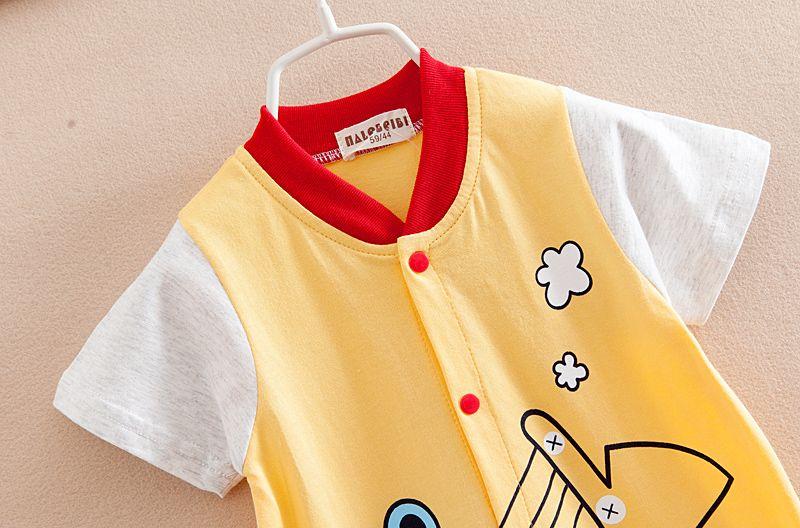 Bebê de uma peça romper China fornecimento barato roupa infantil 100% algodão