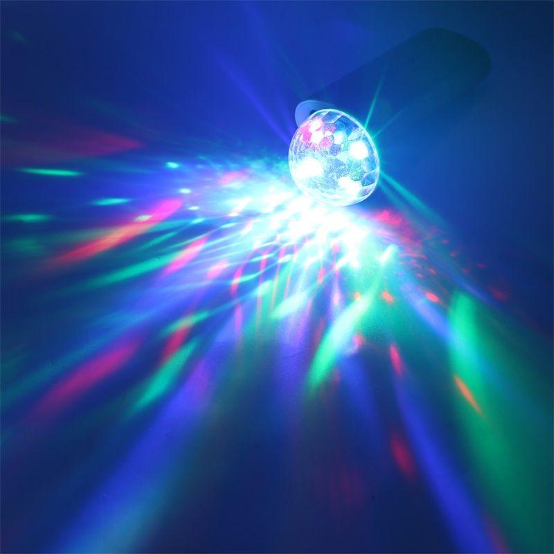 Mikrofon USB bunten Licht Mini bunten Neonlicht Dekoration Farbwechsel mit Musik Rhythmus Verkauf