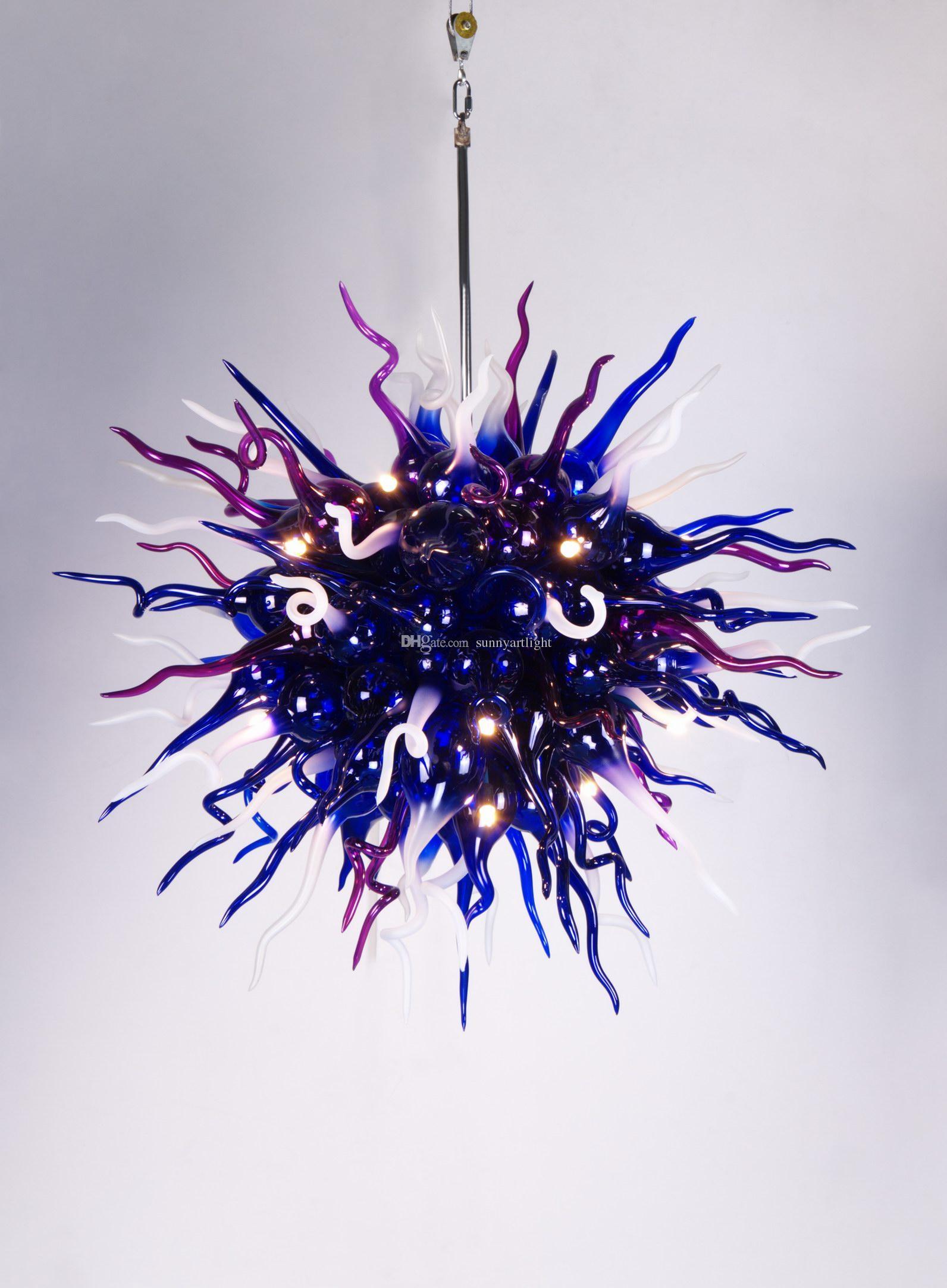 Handicrafts Dining Chandelier Lighting Color Size Customized Style New Centerpiece Wedding Art Light Fixture