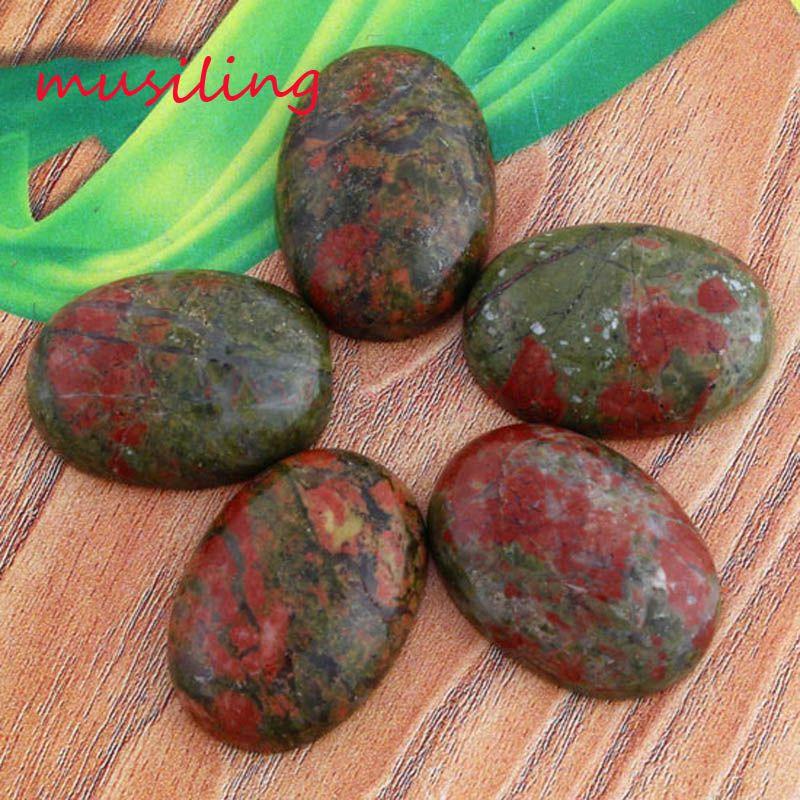 Solta Pérolas de Cristal DIY Para Fazer Jóias 18X25mm Pedra Natural Gem Solta Pérolas Oval Contas de Quartzo Rosa Ametista etc Encantos Acessórios