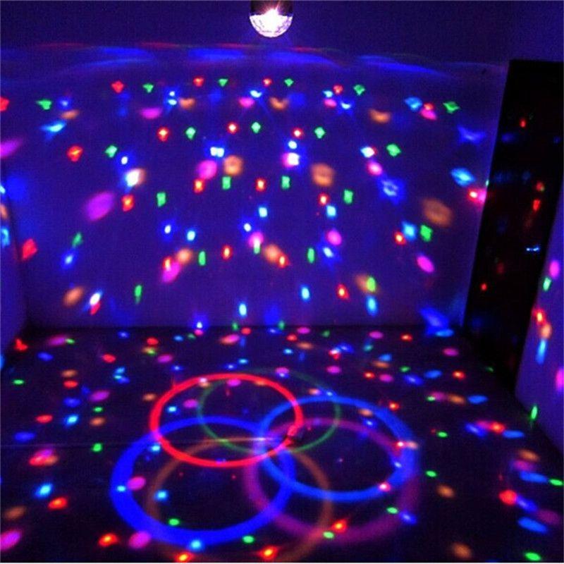 9 LED DMX 512 Remote Control Beautiful Crystal Magic Effect Ball Light DMX Disco Dj Stage Lighting Play