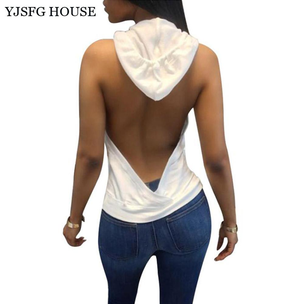 Sexy sleeveless tops