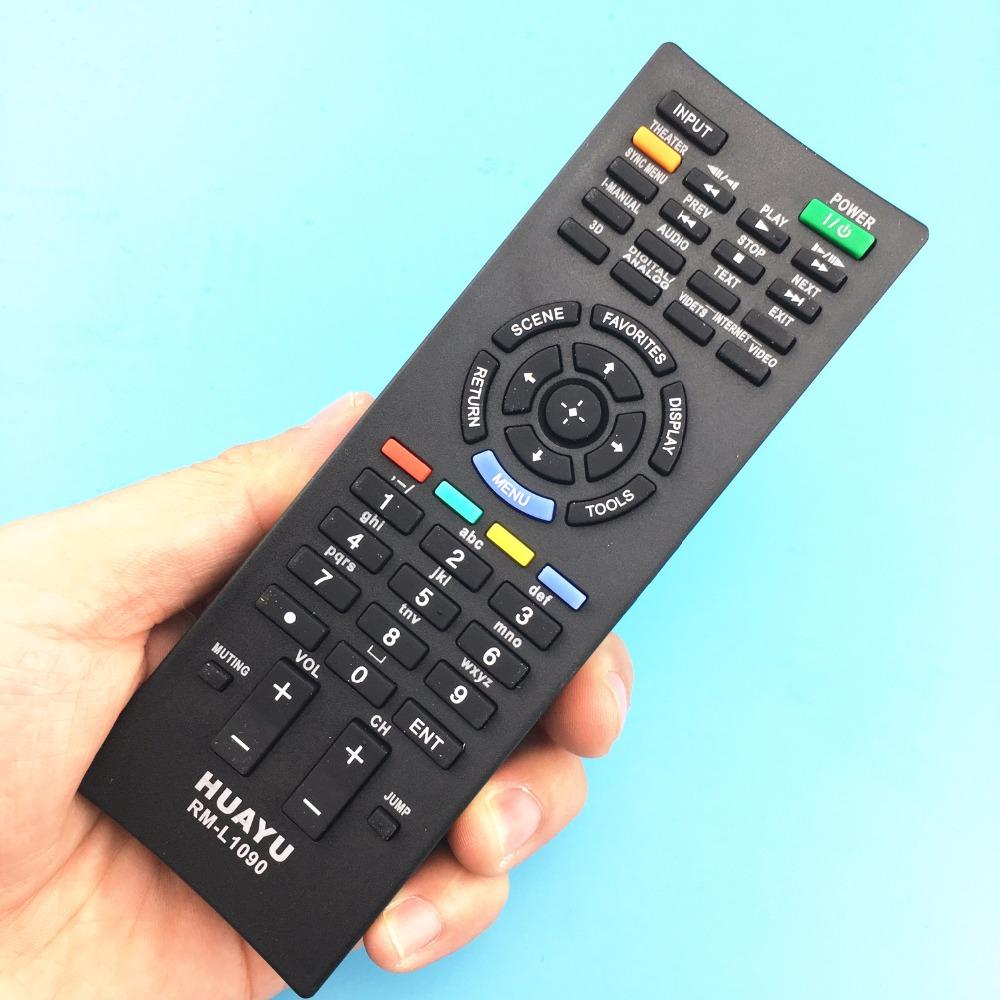 Wholesale Rm L1090 Remote Control Suitable For Sony Tv Led Lcd Hdtv 3d Nunchuk From Cowpea 3604
