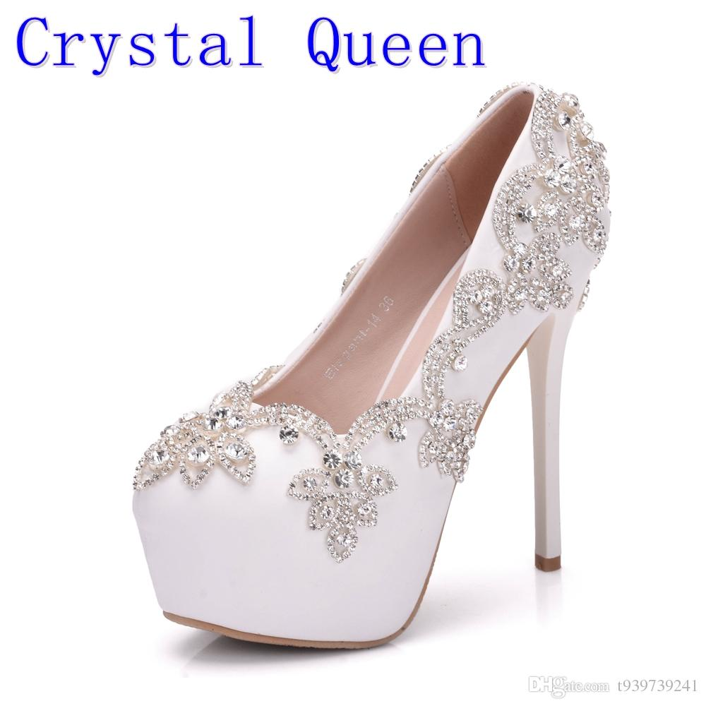 0439f21e597 Crystal queen white crystal women high heels shoes rhinestones jpg  1000x1000 Crystal heels