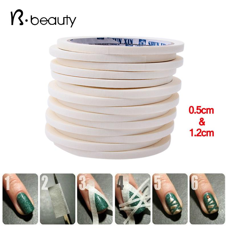 Wholesale Nail Art Adhesive Tape 05cm12cm17m Creative Design Nail