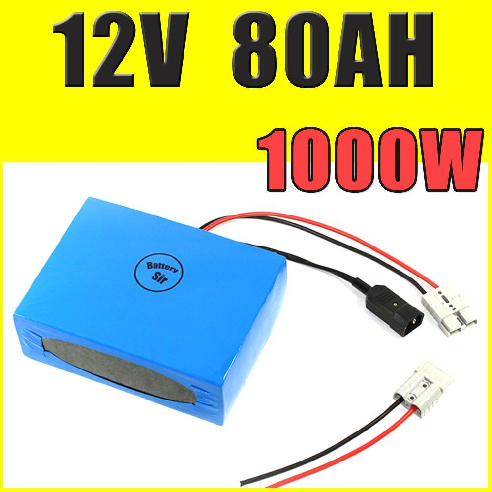 12v 80ah Lithium Battery Super Power Electric Bike 126v Cellphone Charger Using Ion Pack Bms Free Customs Duty 9v From