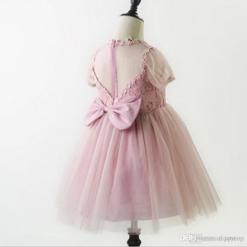 Baby Kids Party Gown Design Pageant New Flower Girls Dresses For