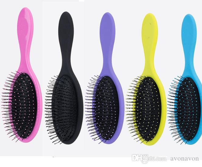 Wet & Dry Hair Brush Hair Detangler Brush Massage Comb With Airbags Combs For Wet Hair Shower Brush B537