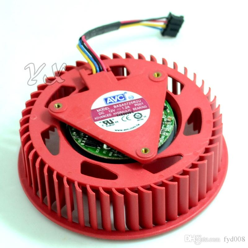 BASA0725R2U 12V, 1.20A 4wires ATI HD5870 HD5970 Turbo graphics card fan cooling fan