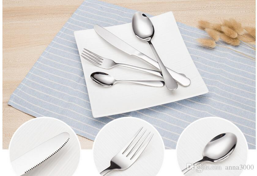Paslanmaz çelik sofra, Batı tarzı yemek biftek, çatal bıçak takımı, otel sofra takımı, paslanmaz çelik bıçak ve çatal kaşık