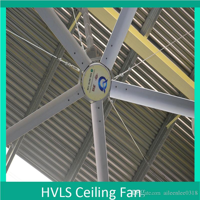 2018 14ft 17ft 20ft 24ft Big Ass Fans Powerful 5 Blades Hvls Industrial Energy Saving Ceiling Fan With Factory From Aileenlee0318