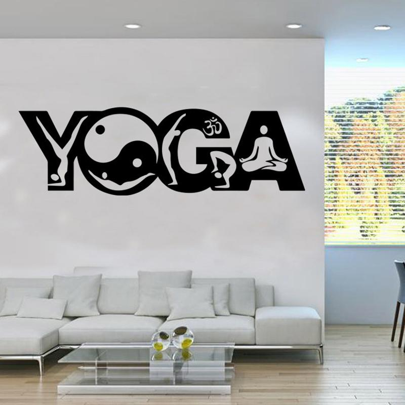 Indian Buddhism Yoga Art Mural Poster Wall Sticker Mandala Wall Decal India Yoga Poster Home Decor Applique Wall Art Decals Trees Wall Art Decor Stickers ... & Indian Buddhism Yoga Art Mural Poster Wall Sticker Mandala Wall ...