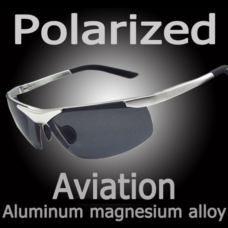 e9408f5bee Wholesale-New Polaroid Sunglasses Men Polarized Driving Sun Glasses ...
