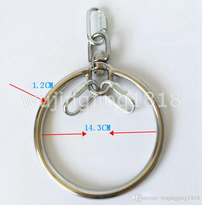 2017 New Arrival BDSM Bondage Slave Tools Stainless steel Suspension Loop Restraints Sexy Toys For Couples Sex Product