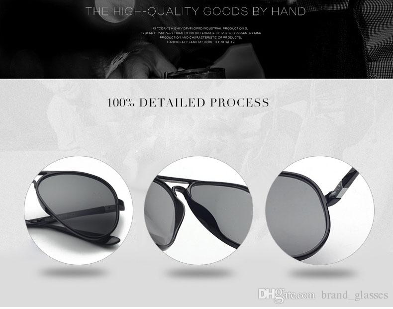 Wholesale - Riving Mirrored Square Retro Sunglasses Eyewear Fashion Vintage Mens Womens Sun glasses UV400 Goggle with cases and box