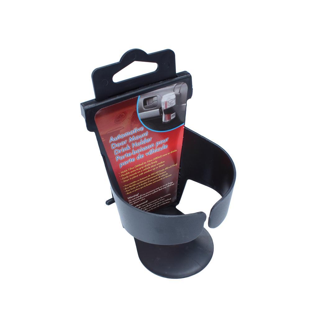 Hanging Drinks Cup Bottle Holder Universal Clip on Dash Window Mount Car Van Via