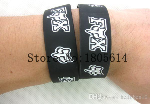 Heat! The new sports wristbands 100% silicon Gym Fitness bracelet can wholesale